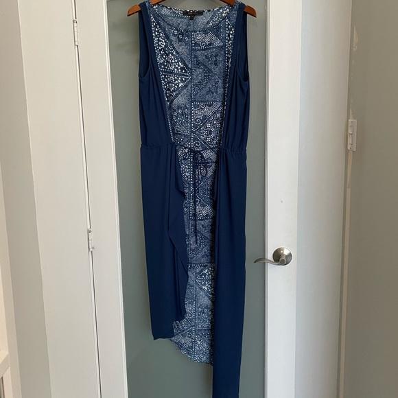 Bcbg asymmetrical dress